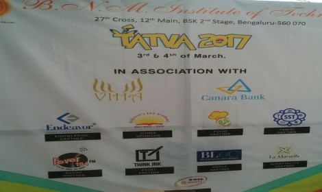 Sponsoring TATVA in BNM Institute of Technology